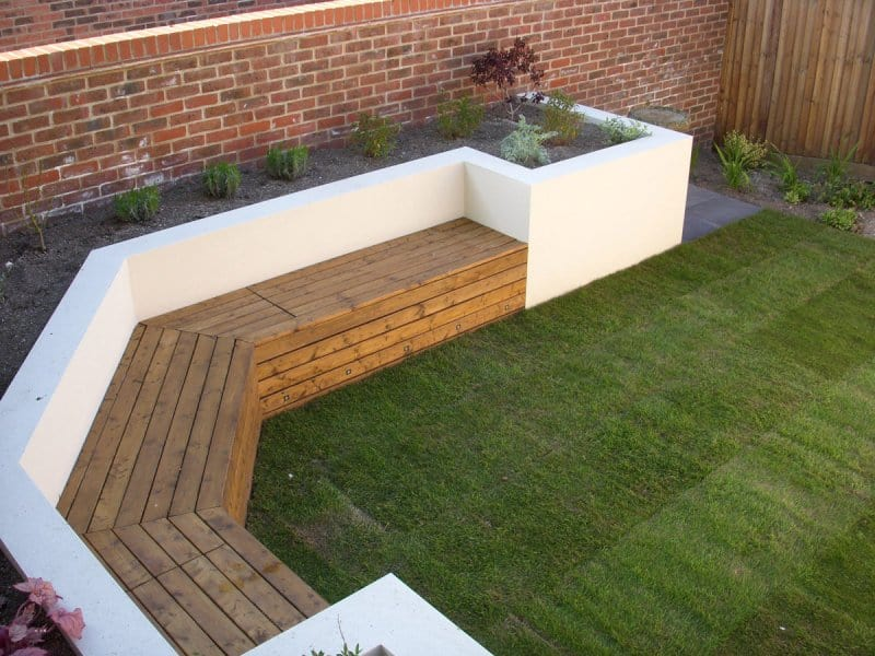 Garden Wall Andrew York Landscaping Stoke